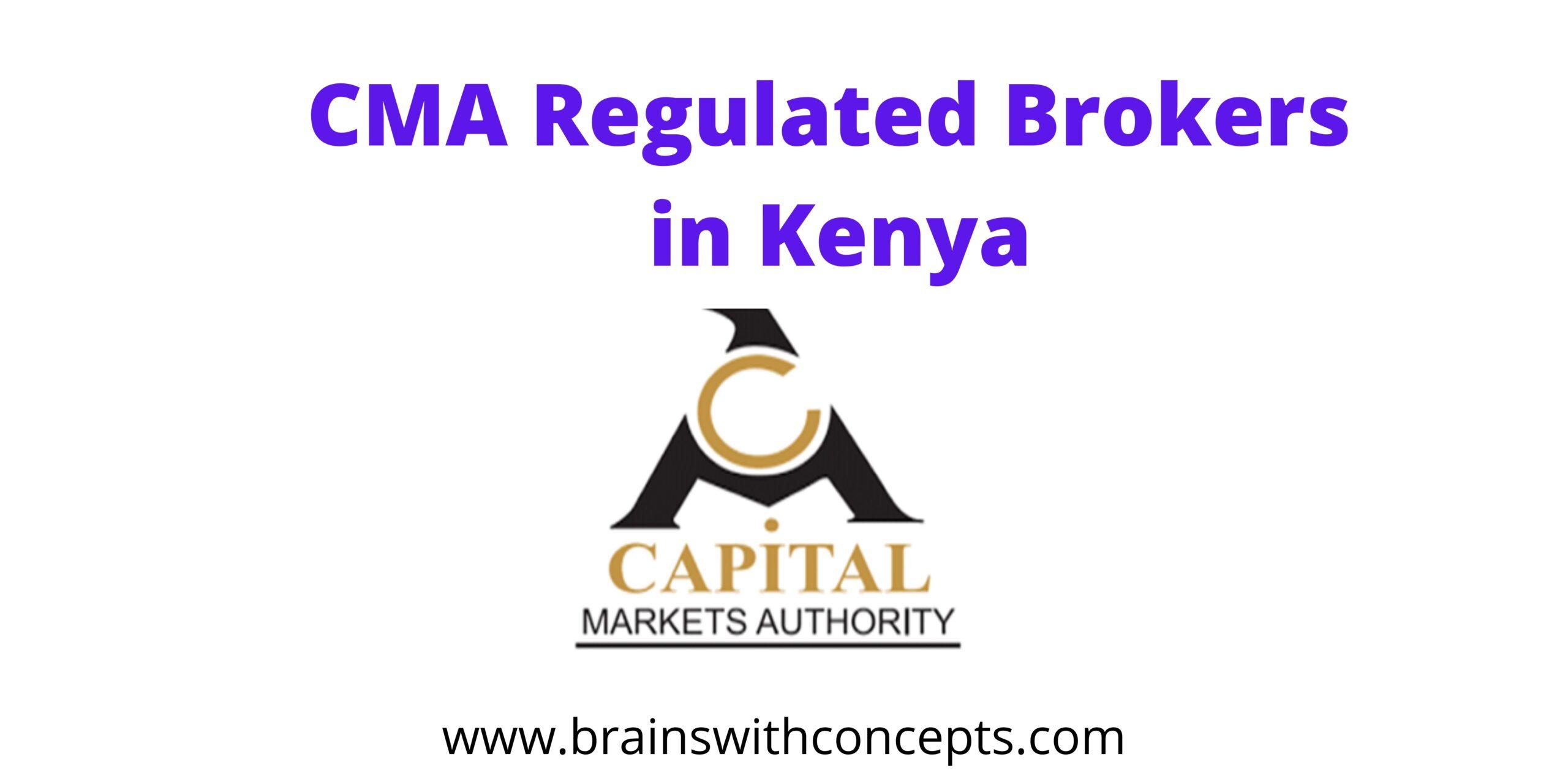 CMA regulated brokers