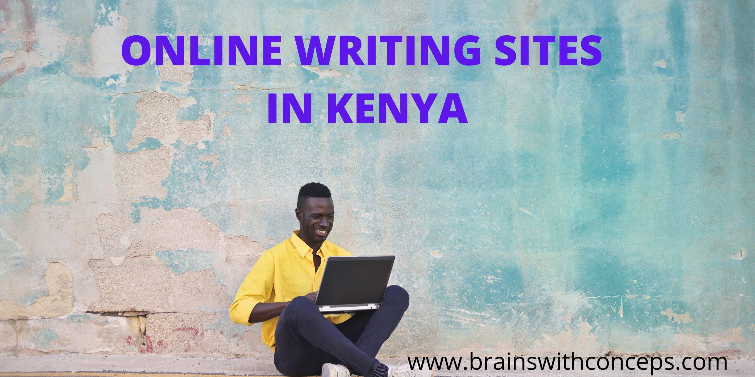 Online writing sites in Kenya